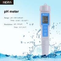Alta precisione Tipo Penna Digitale Portatile PH-Metro CT-Pen Ph Tester Contatore Dell'acqua PH ph Test Pen