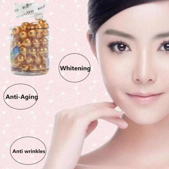 90 pcs / bottle New Vitamin E Facial Cream Whitening Anti Wrinkle