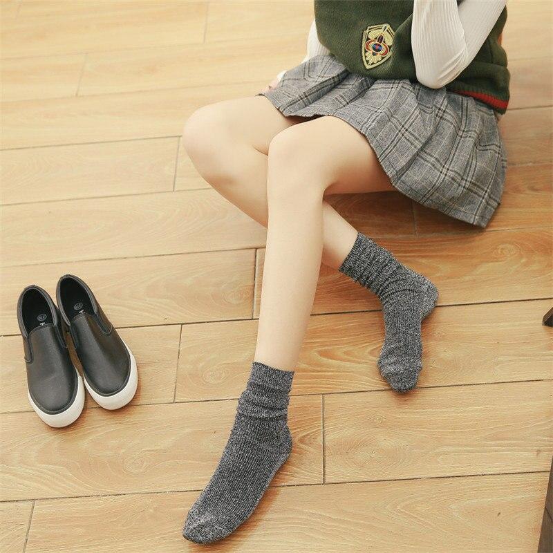 Hot Sale! Japan Style Women Glitter Cute Socks Autumn Winter Gold Sliver Shiny Ankle Socks In Tube Casual Foot Wear Fashion Sock