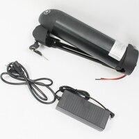 CONHISMOTOR 36 V 11AH Ebike пуховая трубка OEM сотовый литий ионный аккумулятор с BMS, 2A зарядное устройство для электрического велосипеда/скутера/езды на