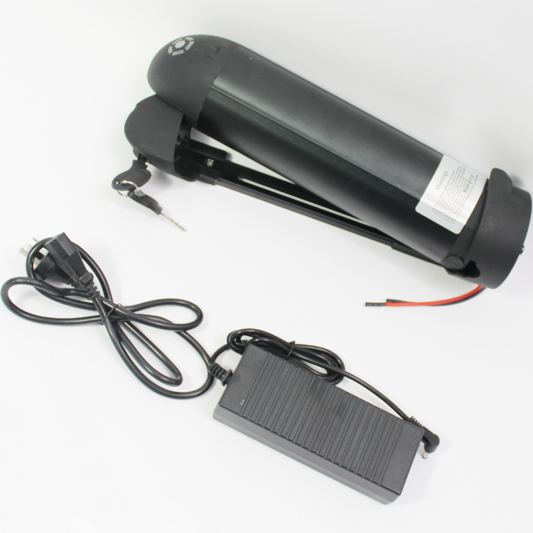 CONHISMOTOR 36V 11AH Ebike Down Tube OEM Cell Li-ion Battery Pack with BMS, 2A Charger for Electric Bicycle/Scooter/Cycling conhismotor atlas ebike 48v 11 6ah lithium ion down tube frame case battery pack for 10a 3c 18650 cell with bms and 2a charger