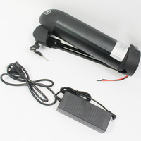 CONHISMOTOR 36V 11AH Ebike Down Tube OEM Cell Li ion Battery Pack with BMS, 2A Charger for Electric Bicycle/Scooter/Cycling