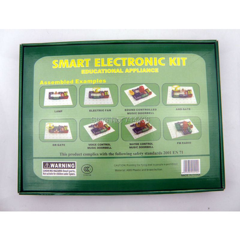 smart electronic kit building block educational appliance toys,kid