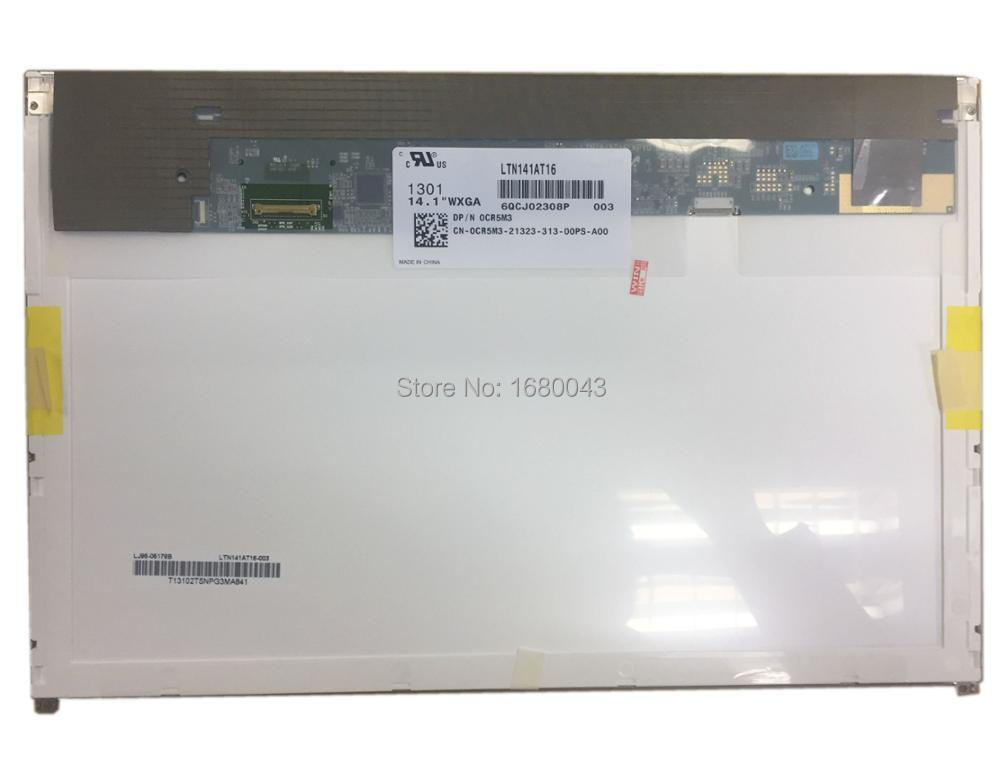 LTN141AT16 fit B141EW05 V5 LP141WX5 TPP1 EDP 30 pin 14.1 LCD LED SCREEN PANEL free shipping 14 1 lcd led screen for dell e6410 notbook b141ew05 v 5 lp141wx5 tpp1 ltn141at16 n141i6 d11