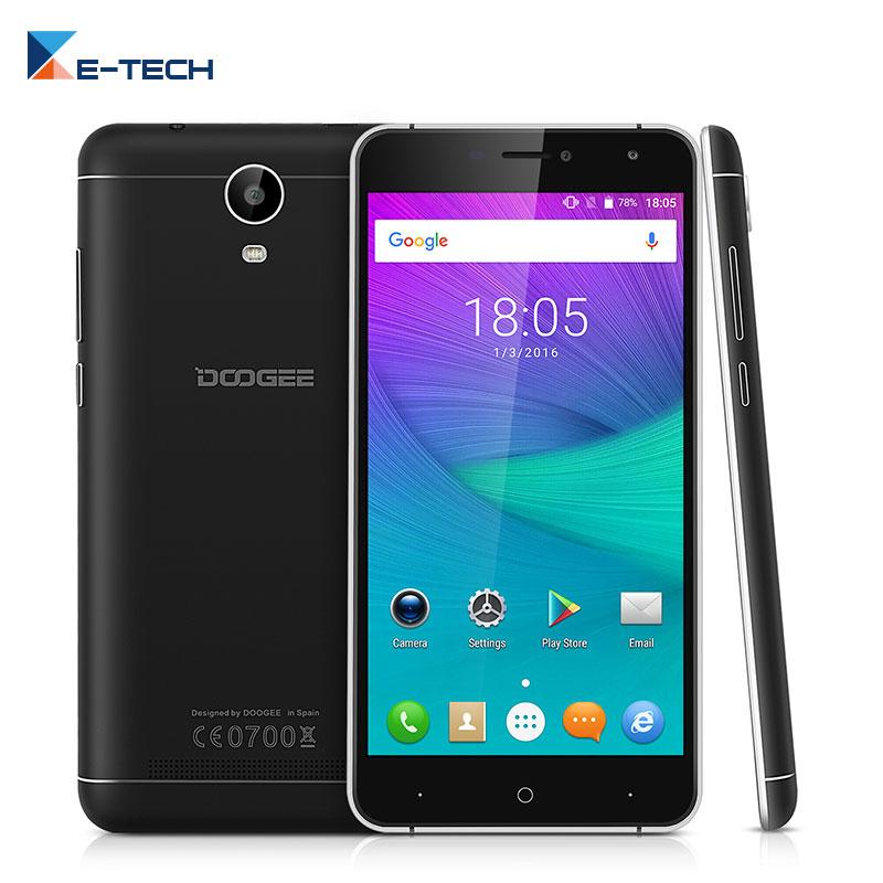 bilder für Ursprüngliche doogee x7 smartphone mt6580 quad core 6,0 ''1280x720 android 6.0 handy 1G RAM 16G ROM GPS Wifi OTA Handy