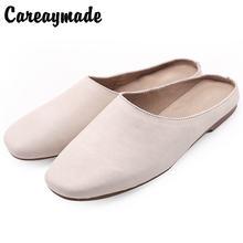 Туфли careaymade в Корейском стиле винтажные модные однотонные