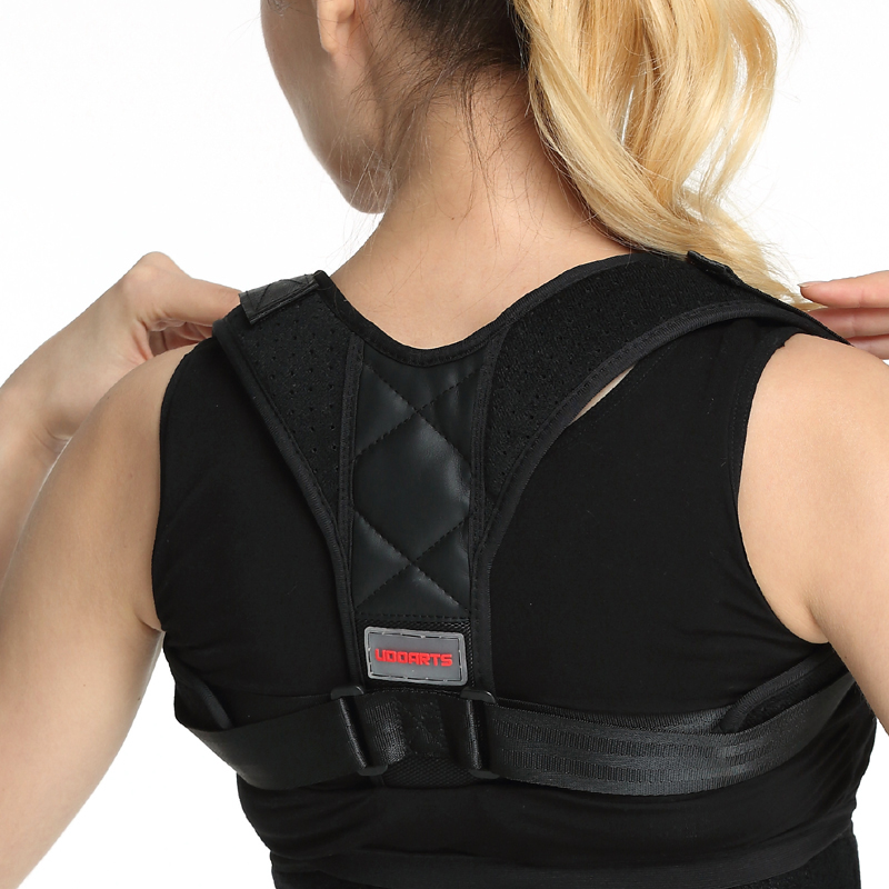 Udoarts Posture Corrector & Back Support Brace for Women and Men (28-48 Chest) Clavicle Support Brace