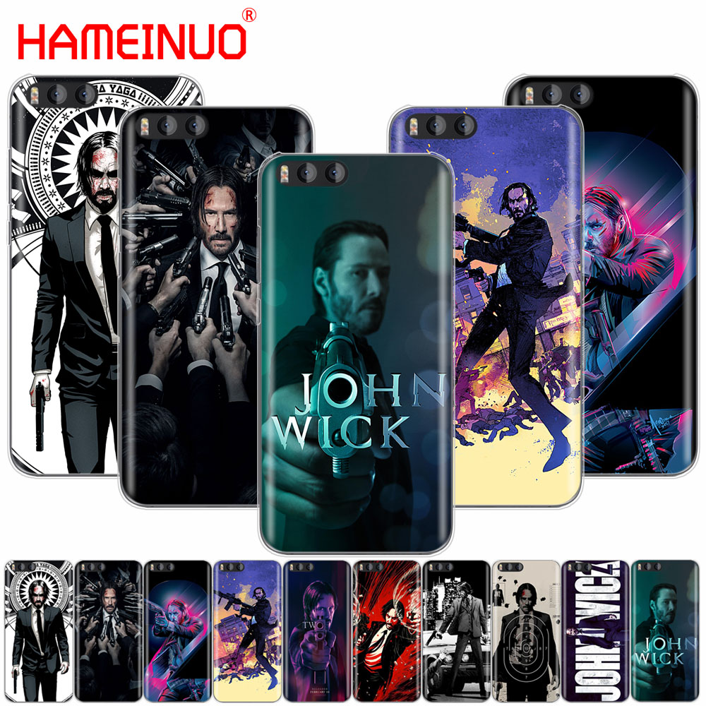 HAMEINUO John Wick Cover Case for Xiaomi Mi 3 4 5 5S 5C 5X 6 Mi3 Mi4 4S 4I 4C Mi5 MI6 NOTE MAX 2 mix plus