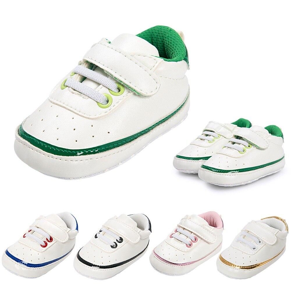 Pięć kolorów Moda PU Skórzane buty dziecięce Mokasyny Noworodek - Buty dziecięce - Zdjęcie 3