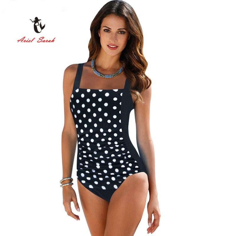 bikinis 2018 mujer talla grande ropa de baño nuevo traje de baño de una pieza brasileña conjunto de Bikini Sexy Beachwear más traje de baño de las mujeres Bikinis negro traje de baño XXXXL BJ272 ropas de baño