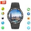 New best lemfo s99a mtk6580 quad core smart watch 512 mb + 8 gb gps wi-fi smartwatch com 5.0 hd câmera de alta para apple telefone android