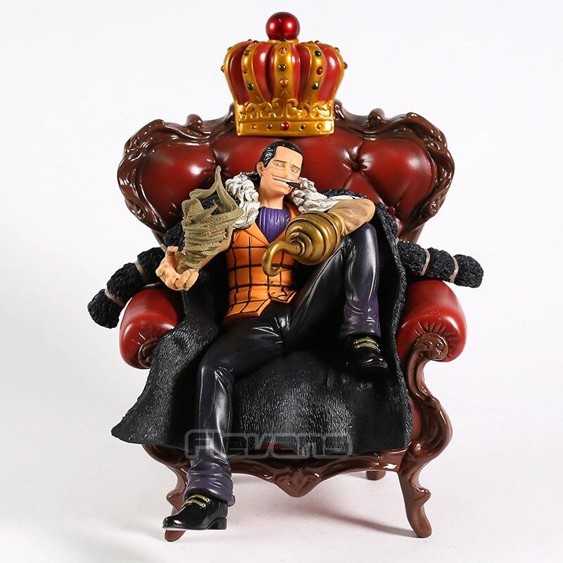 Une pièce Sir Crocodile assis sur la chaise Ver. Jouet de collection en PVC