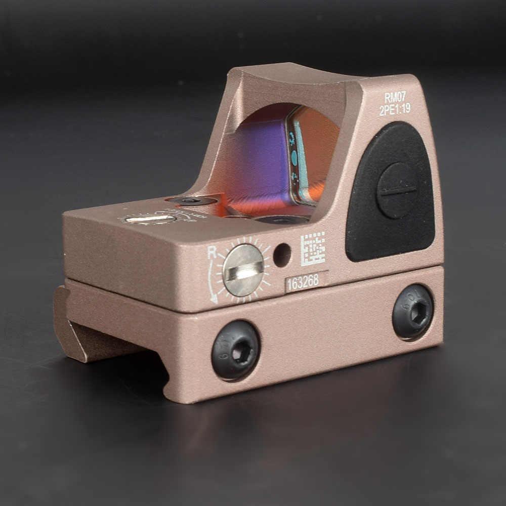 RMR Red Dot Sight Phạm Vi Collimator Glock Reflex Sight Phạm Vi Phù Hợp Với 20mm Weaver Rail Cho Airsoft Hunting Holographic Sight