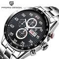 Men Chronograph Watches Top Brand Luxury Waterproof Quartz Watch Male Sport Military Men Wrist Watch Clock Male reloj hombre