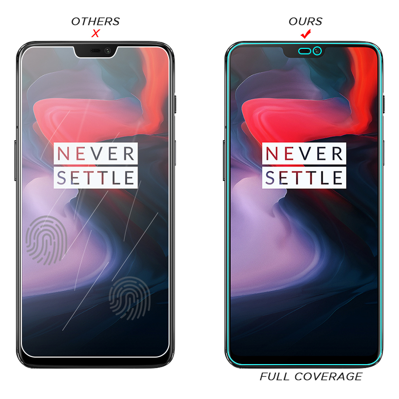 Image 2 - HD Tempered Glass For Oneplus 7 7T 6T 5T 6 5 3T 3 1+7 1+6 One Plus 7 Oneplus7 6 T 7T Screen Protector Toughened Glass Cover Film-in Phone Screen Protectors from Cellphones & Telecommunications
