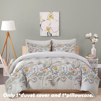 EHOMEBUY Bedding Sets Modern 1 Quilt Cover With 1 Pillowcase Chinese Style US Size Reactive Printing