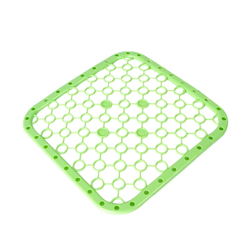 kitchen sink divider protector mat heat insulation table mat green - Kitchen Sink Protector