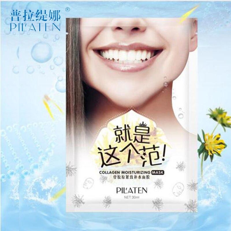 Pilaten 2pcs / Mască de cristal de colagen Albire hidratantă - Ingrijirea pielii