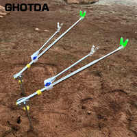 Металлический кронштейн для удочки 1,5 м 1,7 м 2,1 М 2,4 м аксессуары для рыболовных снастей