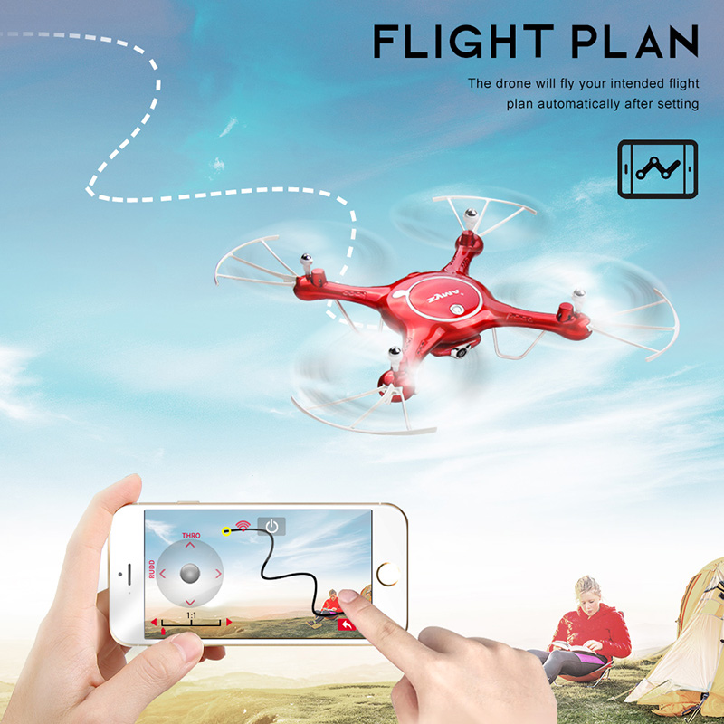 SYMA X5UW Drone with WiFi Camera HD 7P Real-time Transmission FPV Quadcopter 2.4G 4CH RC Helicopter Dron Quadrocopter Drones 7