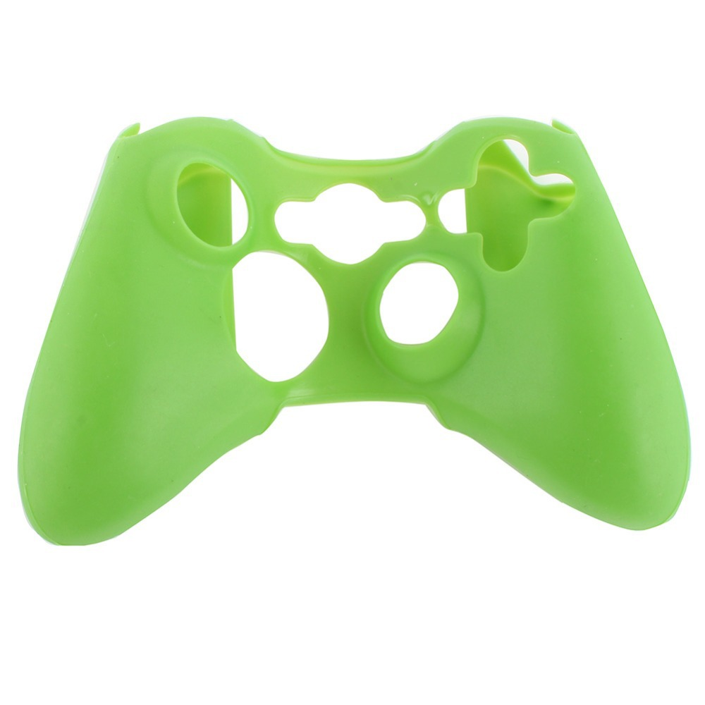 Silicone Rubber Protective Skin Case Cover for XBOX 360 Controller Game 10 Color Free Shipping