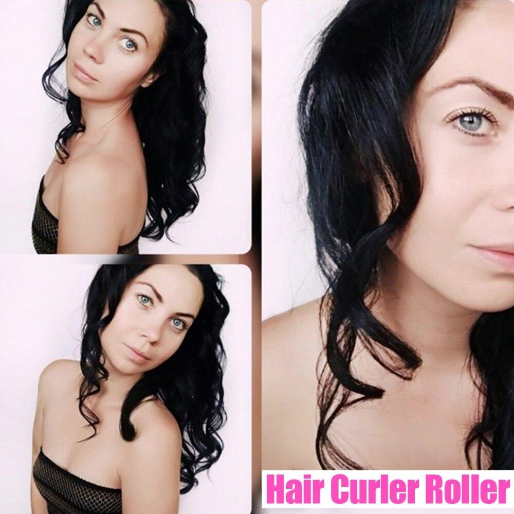 18pcs/set Hair Accessories 45cm Long Diameter 2.5cm Hair Roller Tools Magic Hair Curlers DIY Make Curls Hair and Waves Hair