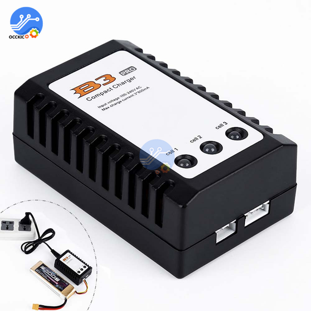 EU/US Plug Balanced battery charger for iMaxRC iMax B3 Pro Compact 2S 3S Lipo Power Supply Charger for RC Helicopter