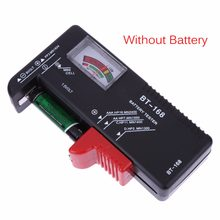 Universal BT168 Digital Battery Tester Volt Checker for AA AAA 9V Button Multiple Size Battery Tester Voltage Meter Tools(China)