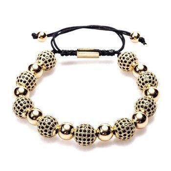 Bracelet Shamballa Dore