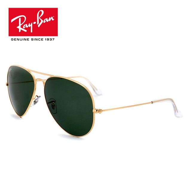 46359b5f10 ... discount rayban original pilot sunglasses polarized eyeglasses gafas sun  glasses classic prescription rb3026 l2821 f4385 67b11
