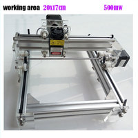 GRBL 500mW Desktop DIY Kit Blue Purple Laser Engraving Machine Picture CNC Printer Working Area