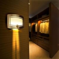 2015 New Stick On LED Infrared Sensor Lamp Wall Light Body Motion Sensitive Night Light Ultra