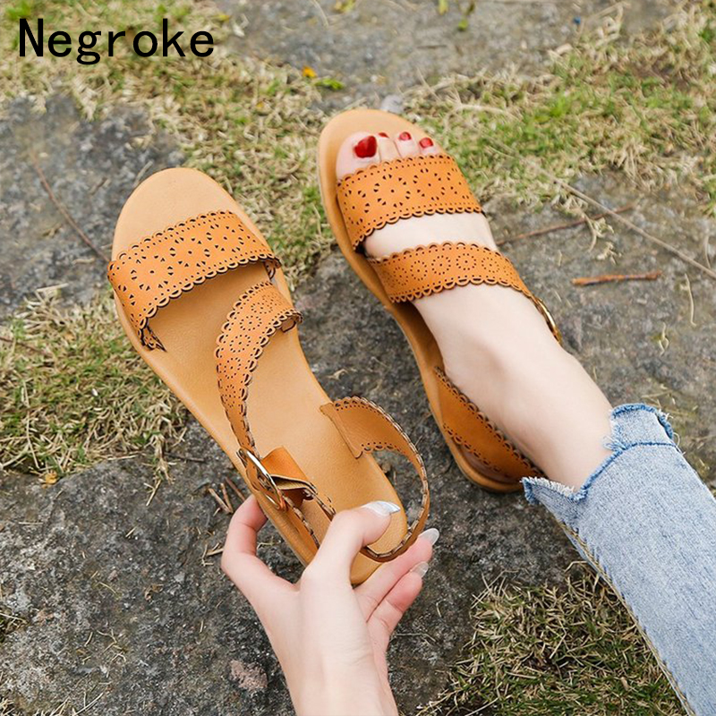 Fashion Sandals Women 2019 Summer Shoes Woman Flat Sandals For Beach Chaussures Femme Peep Toe Plus Size 43 Casual Flip FlopsFashion Sandals Women 2019 Summer Shoes Woman Flat Sandals For Beach Chaussures Femme Peep Toe Plus Size 43 Casual Flip Flops