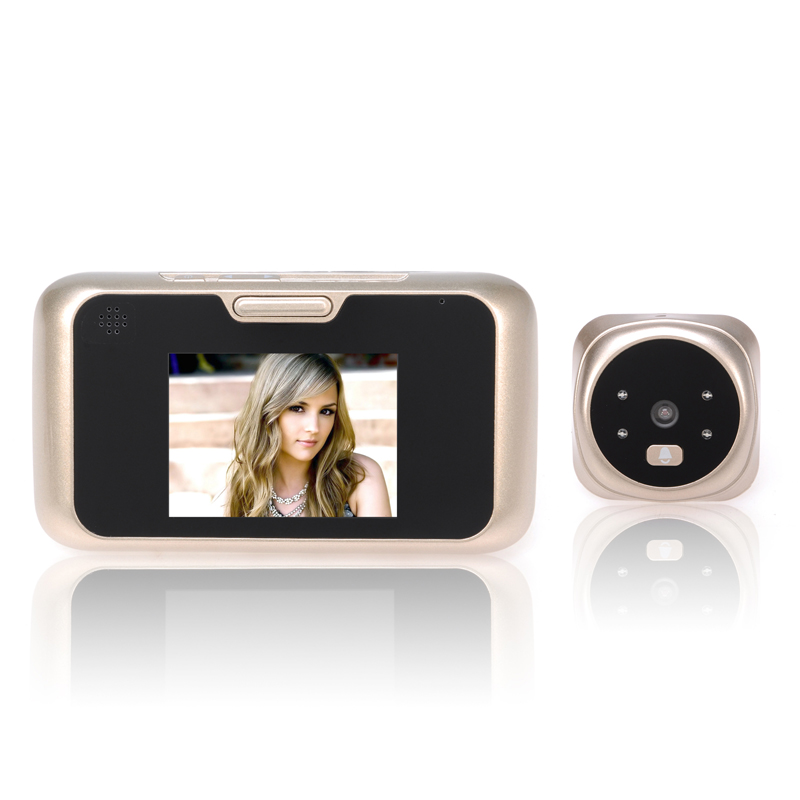 3.0 inch LCD Digital Door Camera Video Peephole Viewer Doorbell Camera Zoom Video Eye Recorder with Night vision danmini 3 0 hd lcd viewer digital peephole viewer camera 2 0mp professional color screen video eye video recorder night vision