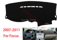 Car Dashboard Avoid Light Pad Instrument Platform Desk Cover Mats Carpets Auto Accessories For Ford Focus
