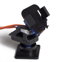 Yuanmbm Servo PTZ Dual Axis FPV Aerial Camera Mini Stand Remote Actuator Rotary Mount DIY Toy