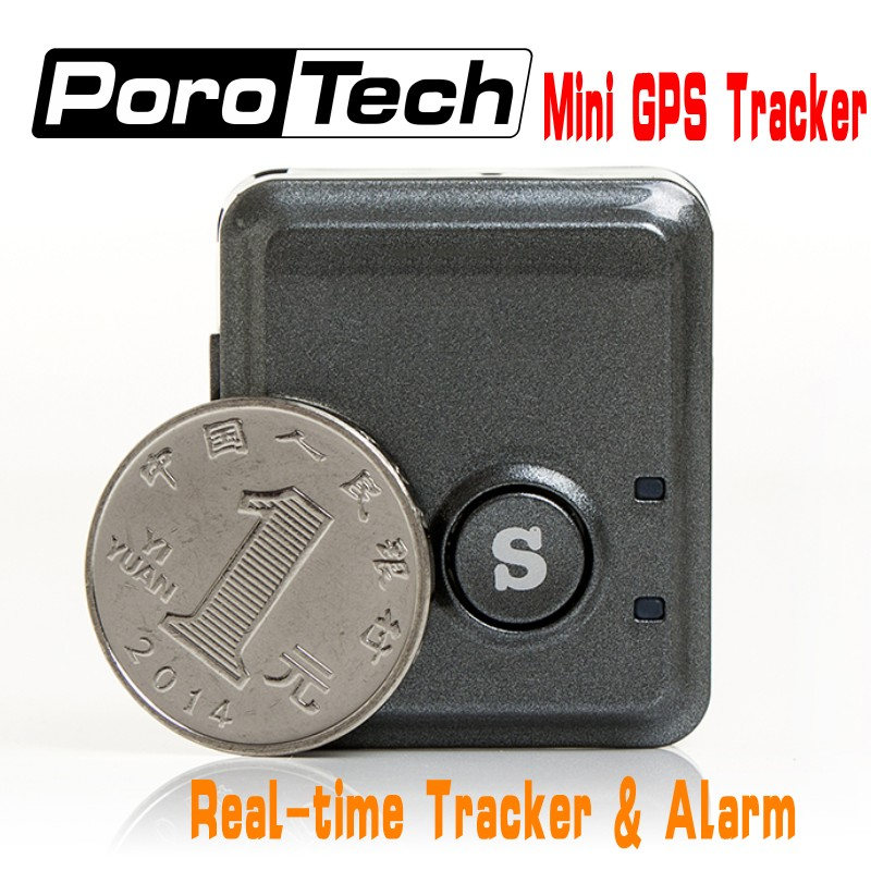 V8S Mini GPS Tracker Real Time Fast Positioning Anti-lost GPS Tracker GPS GSM SMS GPRS Tracking Device & SOS Communicator