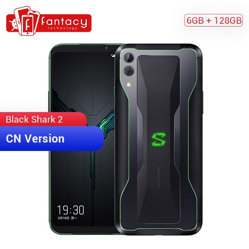 Original Xiaomi Black Shark 2 6GB 128GB Gaming Phone Snapdragon 855 Octa Core 6.39