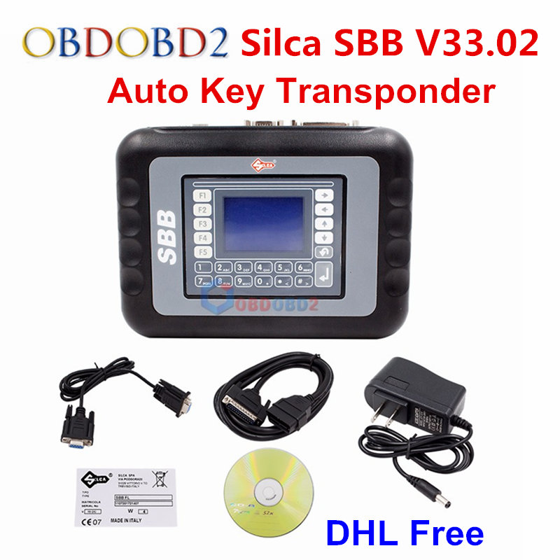 Silca SBB V46.02/SBB V33.02 No Tokens Limited  Key Programmer V33.02 Auto Programming New Keys OBDII Connect Immobilizer SBB V33