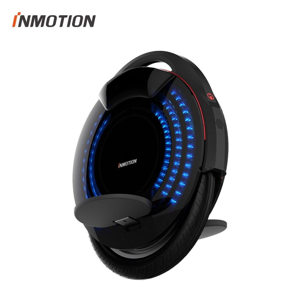 INMOTION V8 Elektrische Einrad Monowheel Onewheel Selfbalancing Roller EUC Off-road APP Mit Dekorative Lampen Elektrische Roller