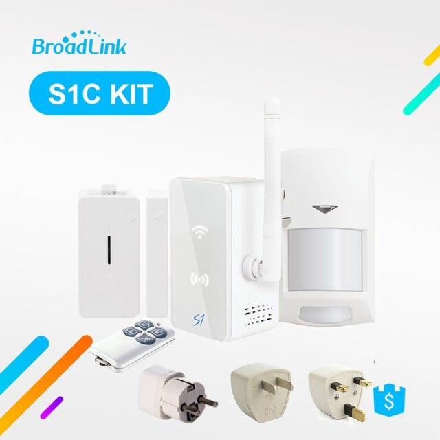 Controlador Broadlink S1 S1C Kit de sistema de automatización del hogar seguridad Detector de alarma SmartOne puerta Sensor de Control remoto por IOS Android