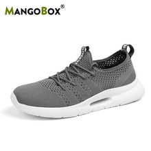Latest Sport Running Shoes Mens Mesh Breathable Gym Outdoor Shoes Male Anti-Slip Jogging Sneakers Lace Up Athletic Footwear Boy