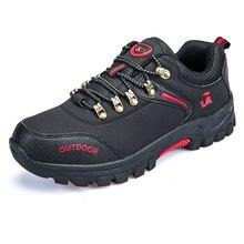 Ifrich новая тенденция Пеший Туризм Ботинки для Для мужчин кожа восхождение Обувь для Для мужчин Открытый Тренеры Кружева до осень-зима кемпинг обувь