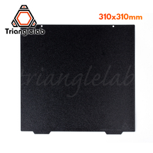 Trianglelab 310 X 310 CR10 Double Sided Textured PEI Spring Steel Sheet Powder Coated PEI Build Plate For CR 10