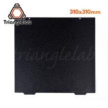 Trianglelab 310X310 CR10, двухсторонняя текстурированная пружина PEI, стальной лист с порошковым покрытием PEI, строительная пластина для искусственных элементов