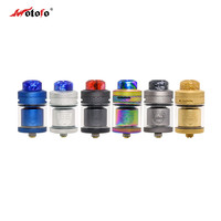 Original Wotofo Serpent Elevate RTA Atomizer Rebuilding Dripping Top Filling Tank 4.5ml /3.5ml Capacity 24mm RTA Vaper Vaporizer
