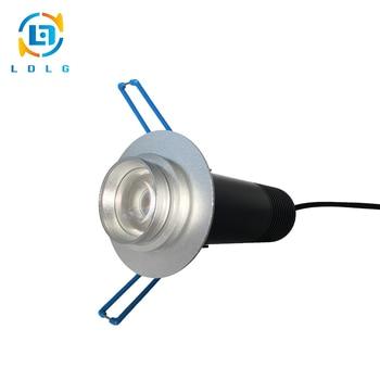 3pc Publicidade Indoor Luz 10W 1200lm LED Gobo Logo Projetor Mini Pingente de Luz de Teto 10W LED Personalizado imagem Do Projetor de Slides