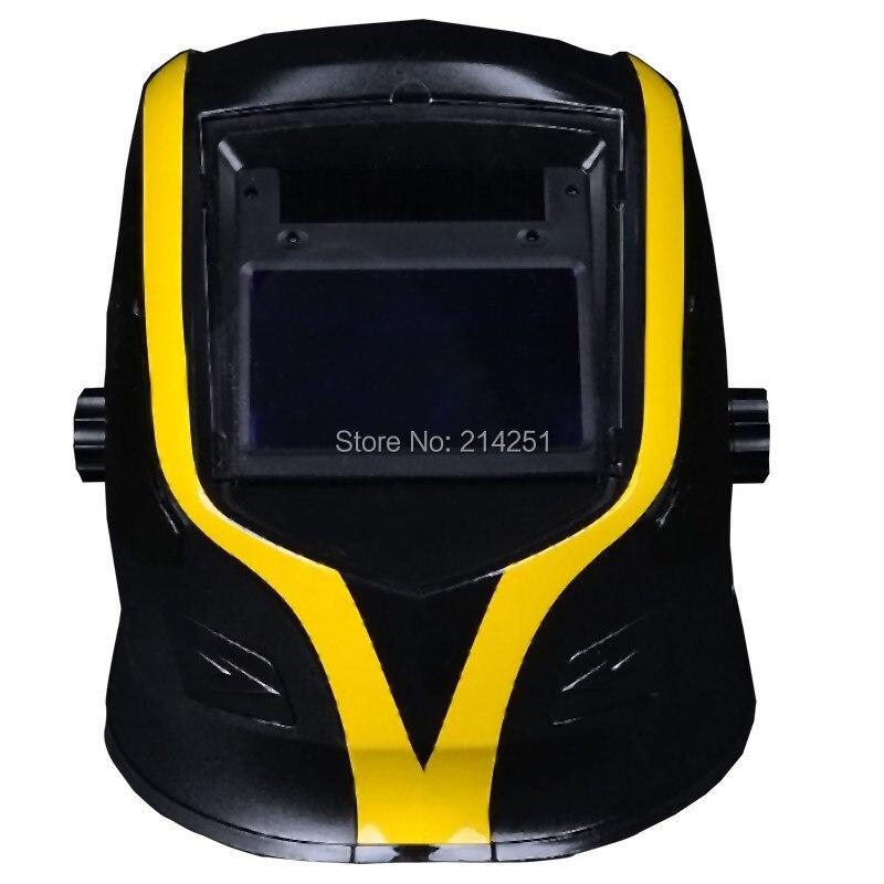 цена на Big Hornets Multi-function Solar Auto Darkening And Grinding Function Tig/mig/mag/mma/plasma Cutter Welding Helmet Free Shipping
