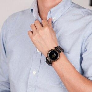 Image 5 - بوبو الطيور شاشة تعمل باللمس الإلكترونية ساعة يد تعمل بالحركة الخشب الفاخرة ساعة اليد الرجال الذكية ساعة Relogio Masculino J R27