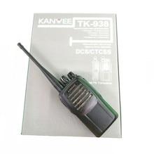 NEW 5W VHF136-174MHz walkie talkie KANWEE TK-938 two way radio with scrambler TK938 handheld radio